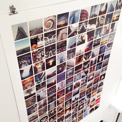 poster size instagram print